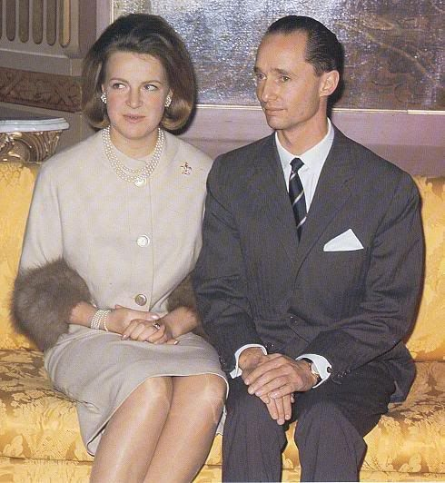 The Royal Forums:  Engagement of Princess Irene of the Netherlands and Prince Carlos-Hugo of Bourbon-Parma, April 29, 1964