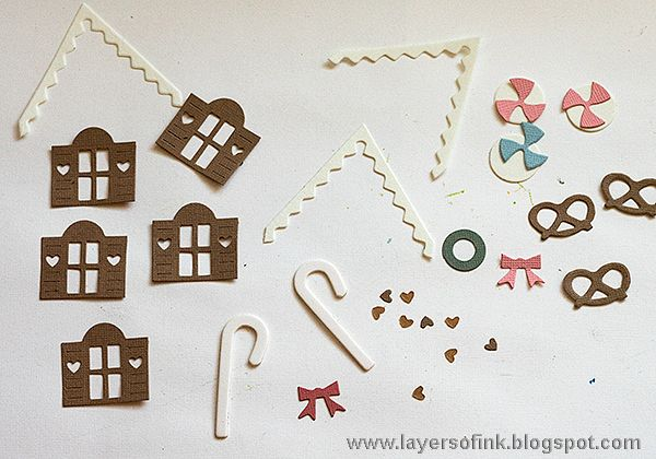 Layers of ink: Pastel Paper Gingerbread House Tutorial