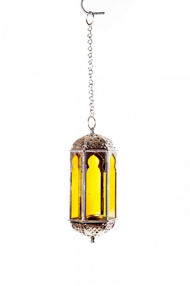 Moroccan Hanging Tea Light Candle Holder Glassware