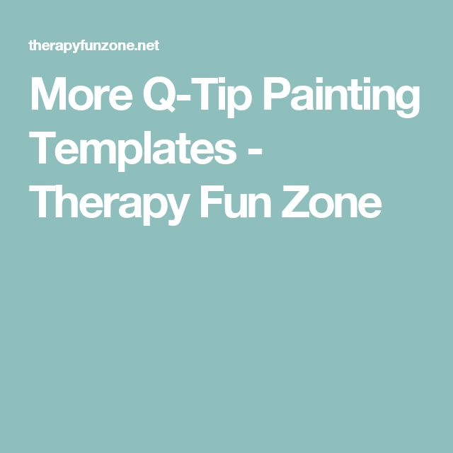 Top 25+ best Painting templates ideas on Pinterest | Q tip ...