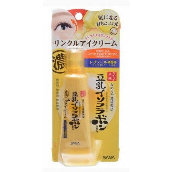 Увлажняющий и подтягивающий крем с ретинолом для кожи вокруг глаз SANA Wrinkle Eye Cream 25 г