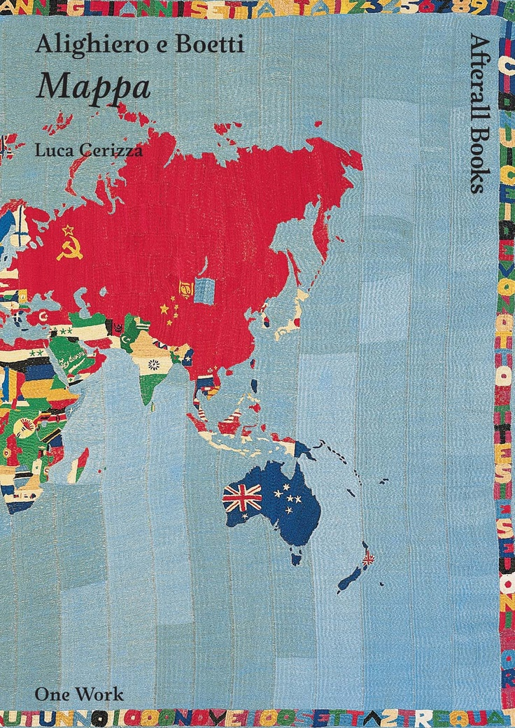 23 best afterall books images on pinterest book books and libri a study of boettis 1988 work map a tapestry map of the pre postcommunist world made of brightly colored painstakingly woven national flags altavistaventures