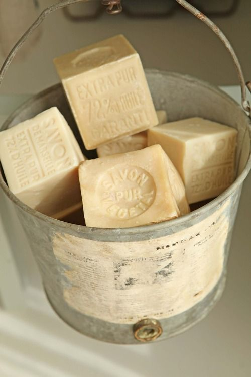 Savon de Marseille -- pure French soap, unchanged over centuries. http://www.recoram.com