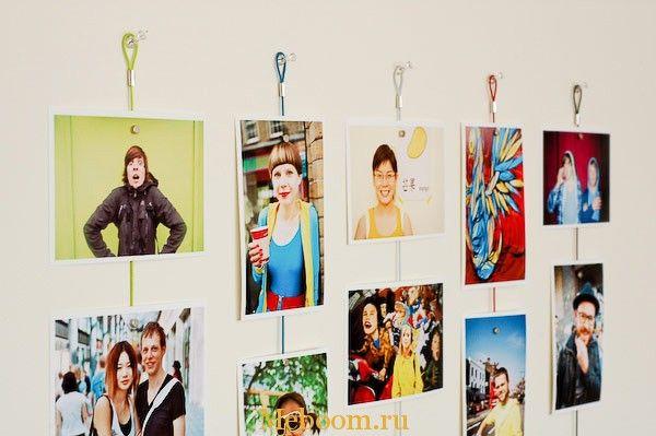 12 идей для оформления фотографий в вашем интерьере « Мебель для Вашего дома