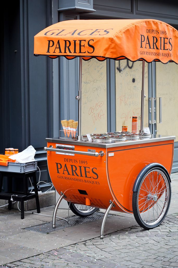 Ice Cream Cart in France
