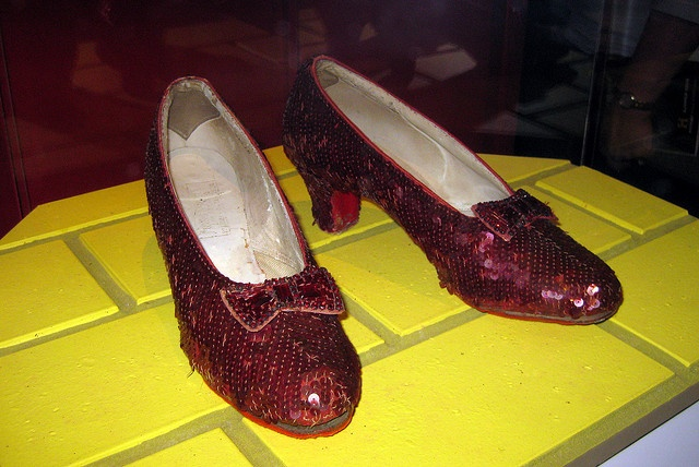 Washington DC: National Museum of American History - Ruby Slippers by wallyg, via Flickr