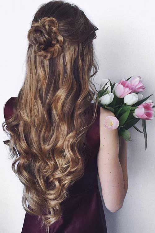 Nice hairstyle ideas for special days
