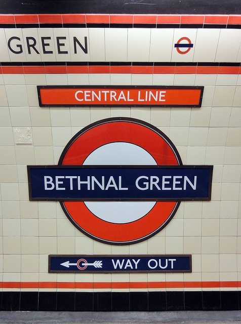 bethnal green tube, photo by smallritual (Steve Collins), via Flickr
