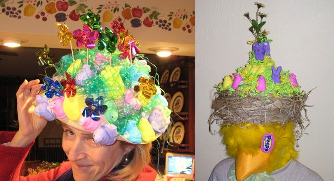 Washington Post Peeps Contest Winners | ... view the Morning Call's Peeps Easter Bonnet Contest entries go here