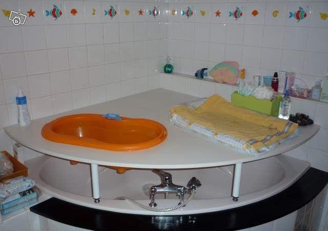Table a langer pour baignoire d 39 angle recherche google salle de bain - Mini baignoire d angle ...