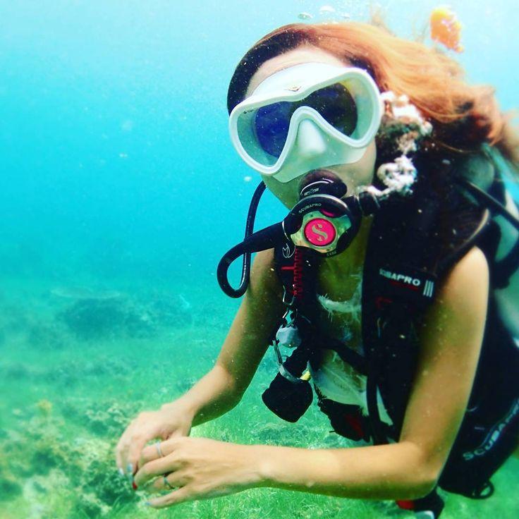 "309 Likes, 12 Comments - ELLA 즐겁게 노는 다이버 (@diver__ella) on Instagram: ""내 컴 봤어요? . 어디 냅두고 다니는건지 . 치매야 치매 #Fun#happy#Special#challenge#Adventure .…"""