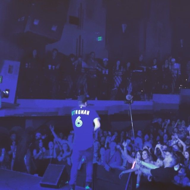 Mike Stud, Futuristic & Moosh & Twist performed on Friday at Gothic Theatre