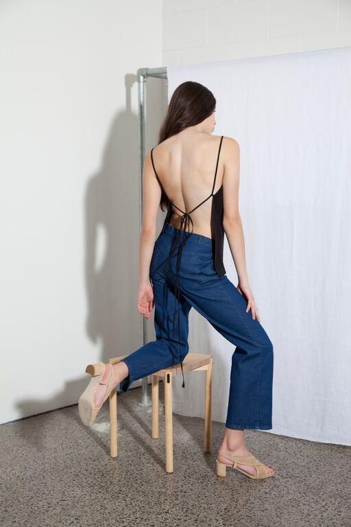 Culty Top - Black & Summer Dreams Jeans