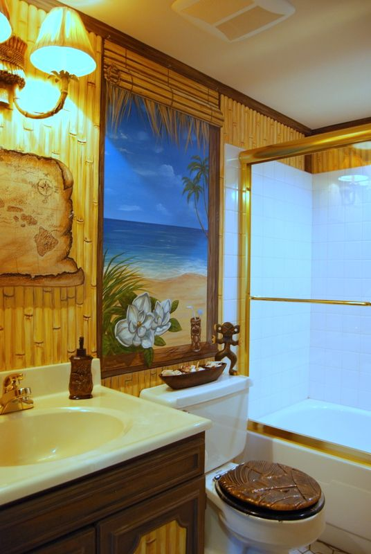 39 best hawaiian decor images on pinterest bathrooms