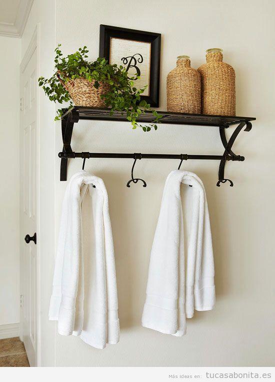 Ideas para decorar baños y lavabos pequeños 6