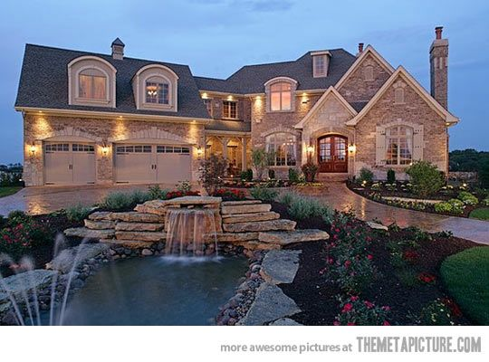 The 'when I win the lotto' house…