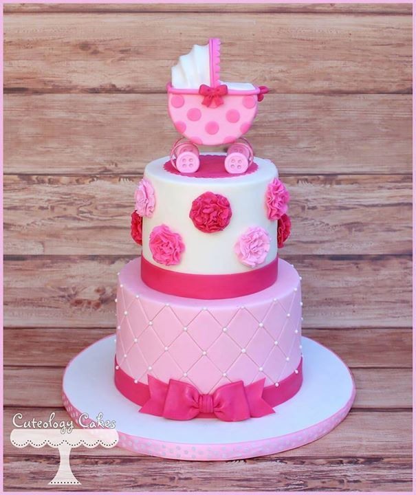 Cuteology Cakes - Timeline Photos Baby Shower Cakes ...