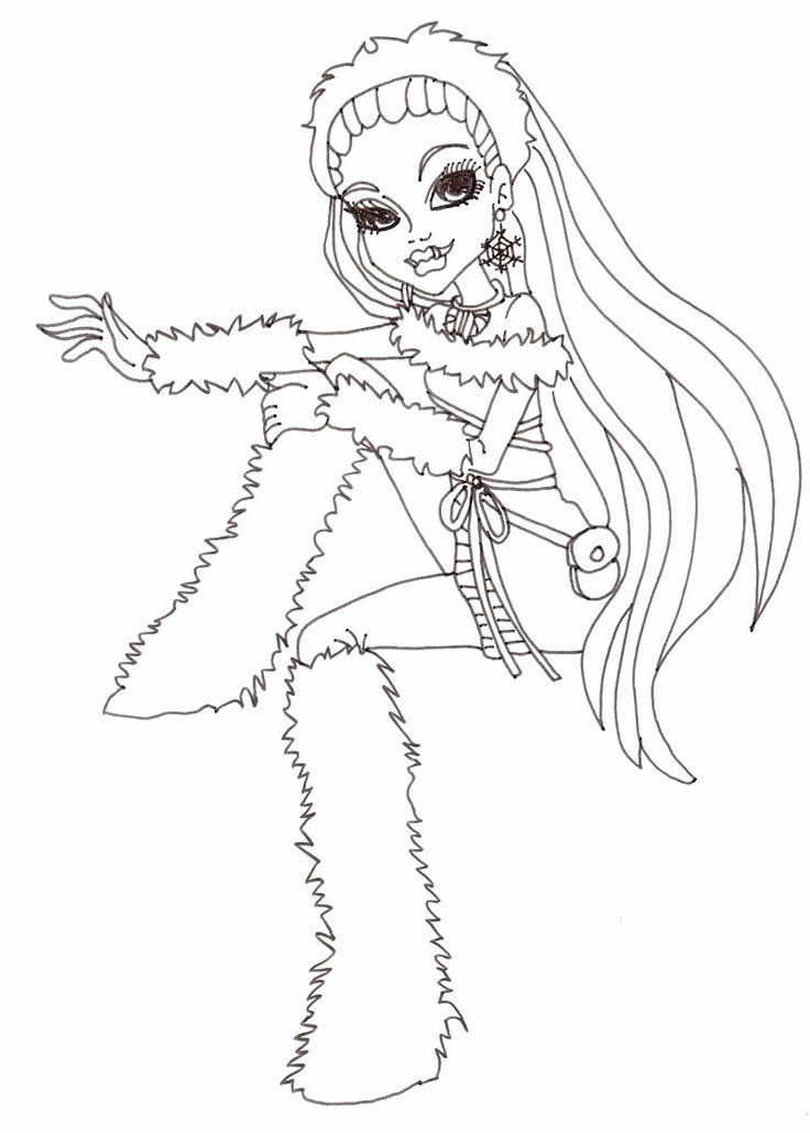 abbey bominable coloring pages - photo#8