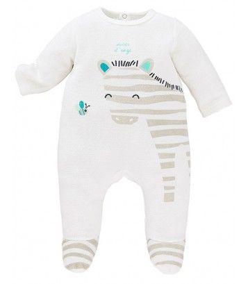 Pyjama bébé écru Sucre d'Orge