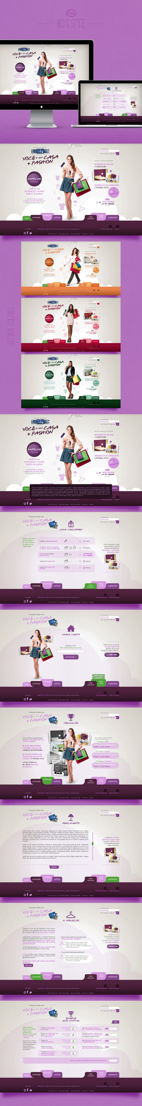 - promotion c&a - by Juliana Laterza, via Behance