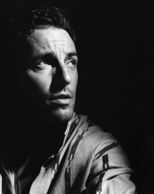 Best poet, musician, and voice of America! The Boss!  I fell hopelessly in love with Bruce in 1985.