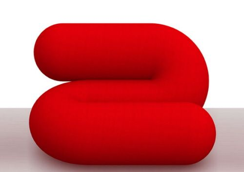#Red #Furniture Statement : S Armchair By Aziz Sanyer #Design | Red Design  | Pinterest | Armchairs, Red And Furniture