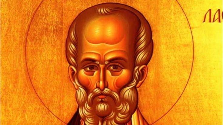Απολυτίκιο Άγ Νικολάου Αρχιεπισκόπου Μύρων της Λυκίας 6 ΔΕΚΕΜΒΡΙΟΥ