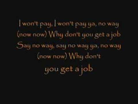 The Offspring - Why Don't you get a job? Lyrics - YouTube