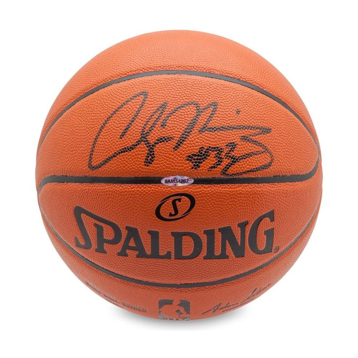 ALONZO MOURNING Autographed Indoor/Outdoor Basketball UDA - Game Day Legends