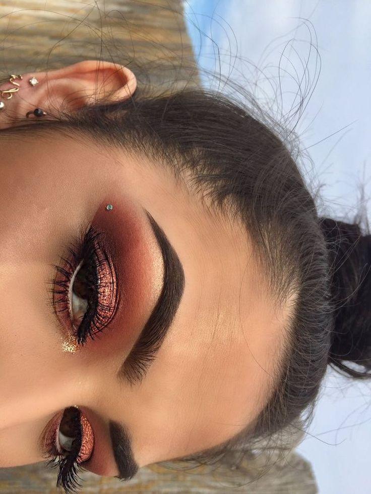 25 Best Ideas About Orange Eyeshadow On Pinterest