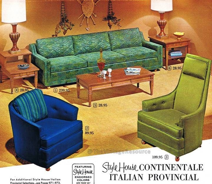 StyleHouse Continentale MCM Furniture From Wards,1964 | Mid Century Modern  Interior Design | Pinterest | Mcm Furniture, Mid Century And 1960s Interior
