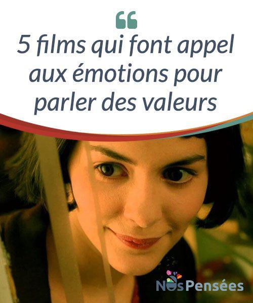 """5 films qui font appel aux émotions pour parler des valeurs  Les films sont une source d'inspiration inépuisable, aussi bien pour les amoureux de #cinéma que pour ceux qui ne #fréquentent pas les salles obscures avec assiduité. Le #philosophe espagnol José Ortega y Gasset a dit : """"Dis-moi quels sont tes centres d'intérêt et je te dirai qui tu es.  #Films"""