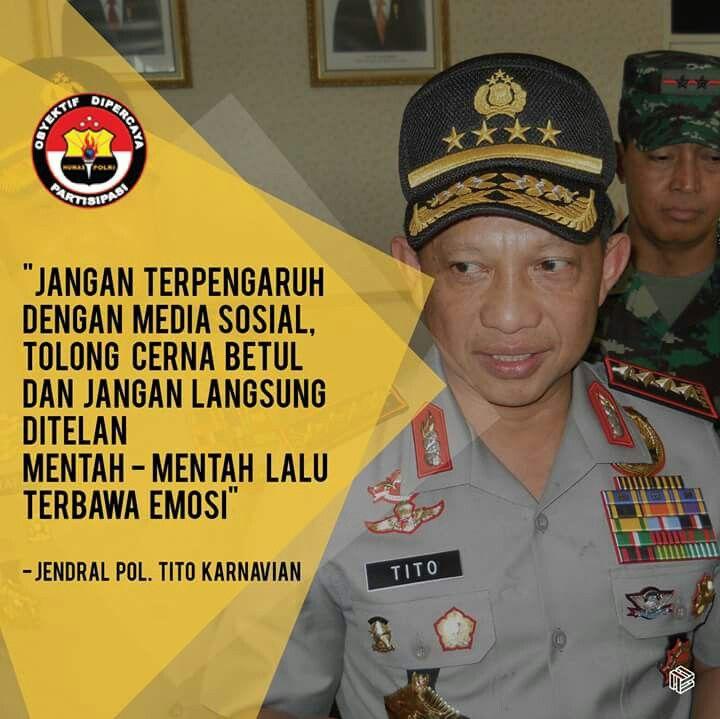 Sebagai masyarakat Indonesia yang cerdas dan modern,  kita harus lebih cermat dalam menggunakan media sosial.  #PolisiIndonesia #Promoter #PolisiHebat #Polisi #Polri #HumasPolri #DivisiHumasPolri #DivHumasPolri #TurnBackCrime #Polri2016 #PolisiGanteng #PolisiCantik #PolisiHebat