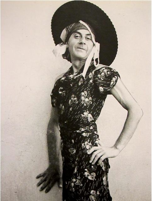 Man Ray. Self-portrait, c.1935