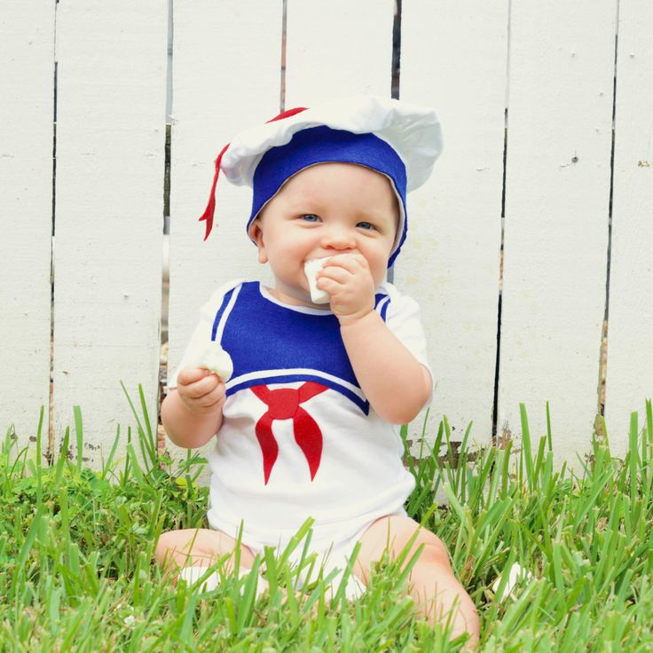 Stay Puft Baby Costume / Toddler Halloween Costume, Kids Halloween Costume, Marshmallow Man, Ghost, Baby Geekery by TheWishingElephant on Etsy https://www.etsy.com/listing/105342617/stay-puft-baby-costume-toddler-halloween