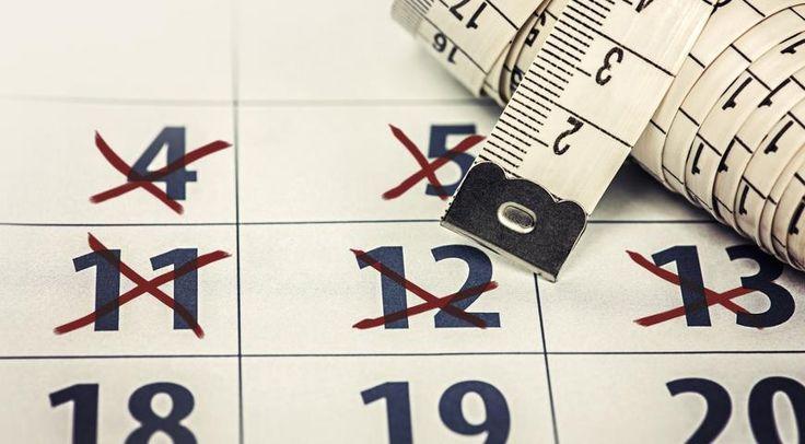 Диета на неделю - меню 1500 калорий на каждый день