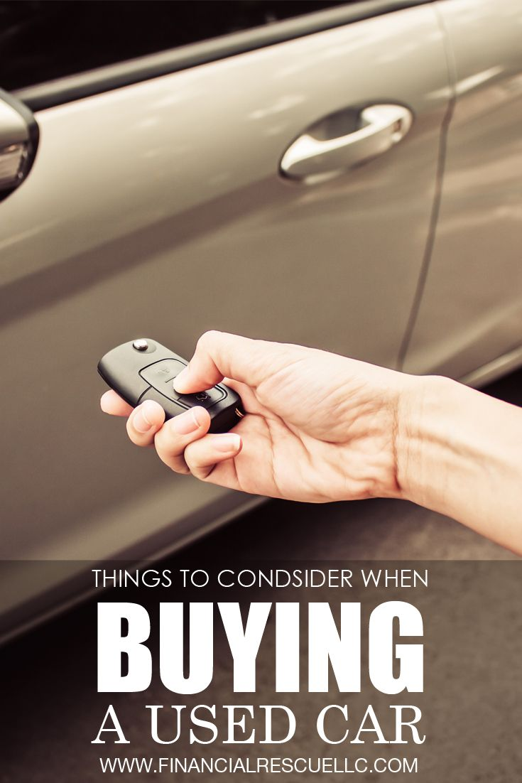 Things to consider when buying a used car poor rich tax blog