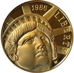 The 1986 Statue of Liberty $5 Gold Coin was issued in commemoration of the 100th anniversary of the dedication of the Statue of Liberty.