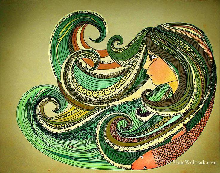 Octopus hair dream