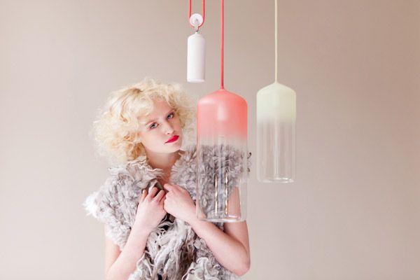 Gradient lamps by Studio WM