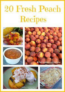 20 Fresh Peach Recipes