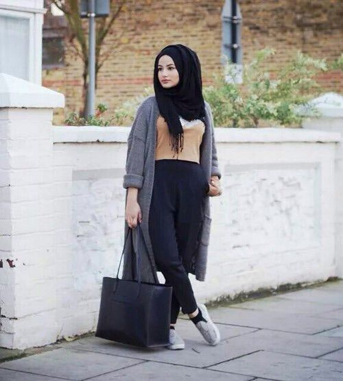 Minimal Chic Hijab _ We Heart It