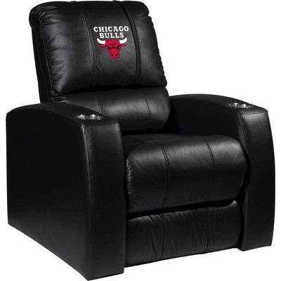XZIPIT NBA Home Theater Recliner NBA Team: Chicago Bulls