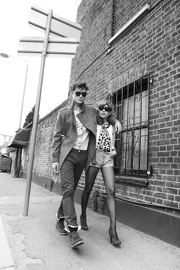 Cool Indie-style couple