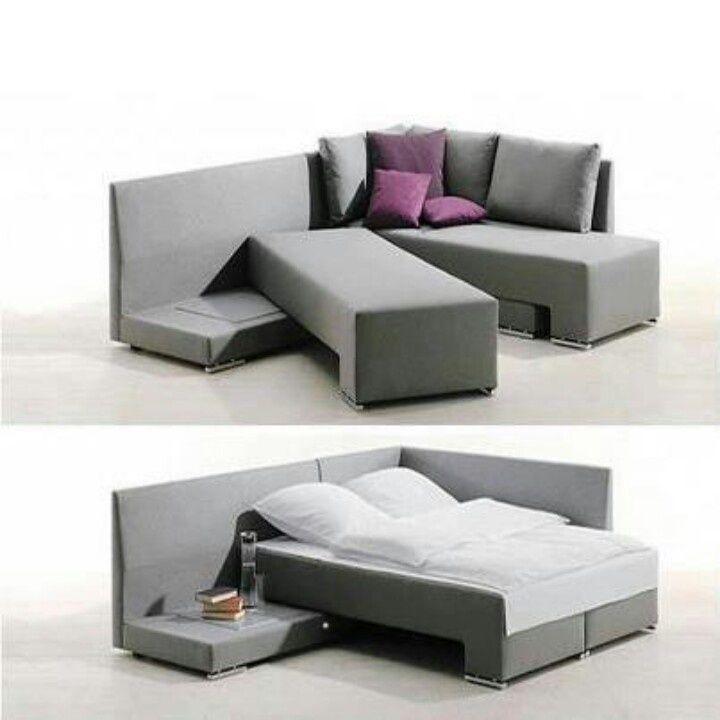 Diseño de muebles - Vento Convertible Bed Couch