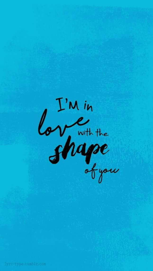 Shape Of You//ed sheeran