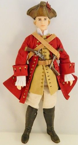 RARE Ken Barbie Doll Historical Admiral Pirate Fashion Set Clothes Hat | eBay