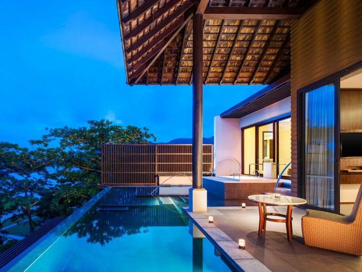 Enjoy total privacy on your private terrace at Vana Belle, Thailand  www.islandescapes.com.au