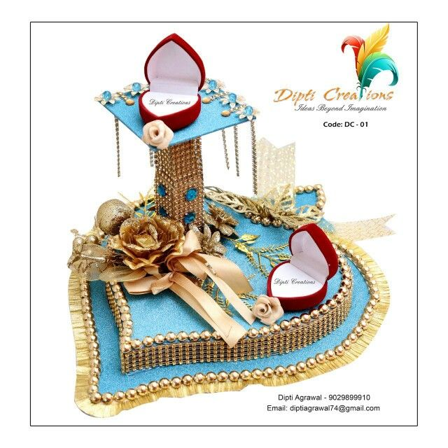 Signature ring platter by dipti agrawal  For order pls call or email