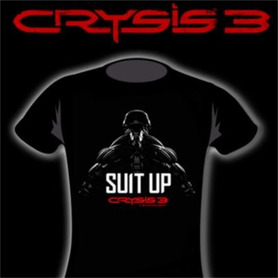 -Incoming Transmission-    Attention all gamers!  It is once again competition time. Up for grabs is an AWESOME Crysis 3 t-shirt! These are seriously hard to come by, so you don't want to miss out on an opportunity to get your hands on one.    Winning it is simple. Simply answer the following question:    In which year does Crysis 3 take place?    Simply send us a message here on Facebook containing the answer. A random winner will be chosen tomorrow at 12 noon.    Good Luck guys